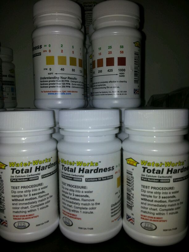 WaterWorks Total Hardness Test Strips