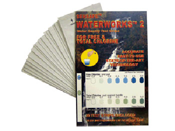 WaterWorks 2 Free and Total Chlorine Water Test Kit