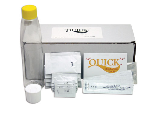 Arsenic Quick Test Kit -- 5 Tests