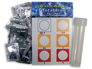 WaterWorks Total Iron Test Kit