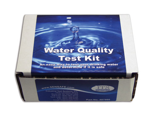 home water test kit for city/municipal water