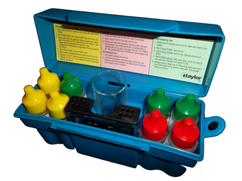 Taylor K-1004 Troubleshooter Pool Test Kit